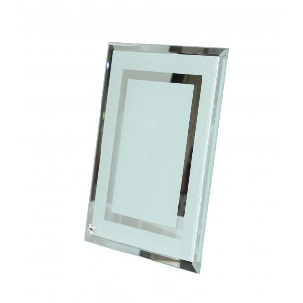 برواز زجاجي خطين حجم (ارتفاع 180CM عرض 230CM)