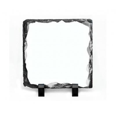 مسطح صخري مربع حجم ( 15X15CM)